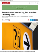 Interest Rates Headed Up – Investment News 12-11-2015