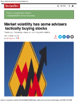 Market volatility has some advisers tactically buying stocks 2-1-16