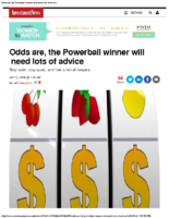 Odds are, the Powerball winner will need lots of advice 1-12-16