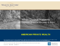 Financial Mistakes to Avoid In A Divorce
