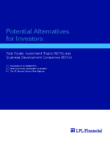 Alternative Investments – BDC & REIT