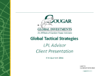 Cougar Global Client Presentation