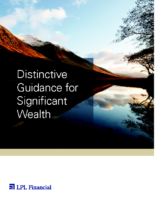 Distinctive Guidance for Significant Wealth