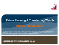 Estate Planning & Transferring Wealth