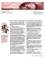 Five Key Benefits for Military Families