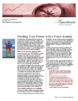 Funding Your Future with a Fixed Annuity