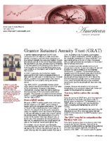 Grantor Retained Annuity Trust (GRAT)