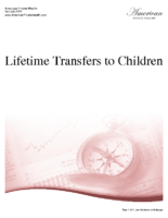 Lifetime Transfers to Children