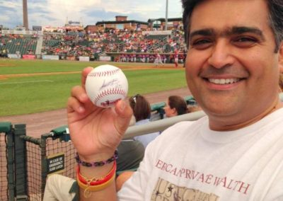 Me with signed ball