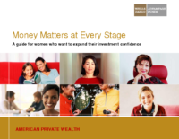 Money Matters At Every Stage Presentation