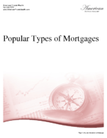 Popular Types of Mortgages
