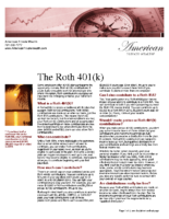 The Roth 401(k)