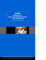 Financial Self-Defense Guide for Seniors