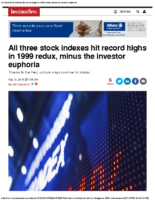 Stock Indexes Hit Record Highs