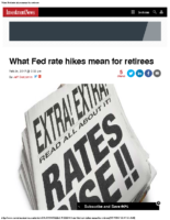 What Fed rate hikes mean for retirees – Inv News Feb 24 2017