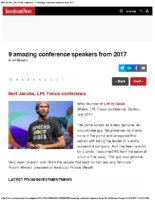 Bert Jacobs LPL Focus conference – 9 amazing conference speakers from 2017 Investment News