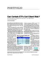 Risky ETF's – Financial Planning Magazine June 2017