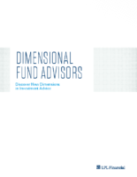 Dimensional Fund Advisors – DFA