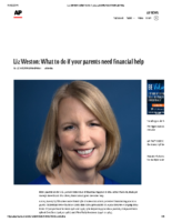 What to do if your parents need financial help – Assoc Press Nov 11 2019