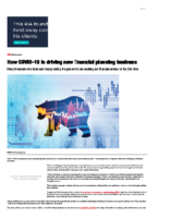 How COVID-19 is driving new financial planning business – InvestmentNews Mar 24 2020