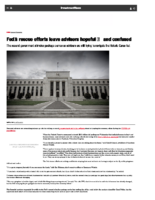 Fed's rescue efforts leave advisers hopeful — and confused – InvestmentNews April 10 2020