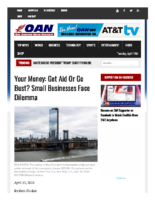 Your Money_ Get aid or go bust_ Small businesses face dilemma – One America News Network Apr 13 2020