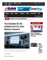 Your questions on the lockdown and U.S. small business, answered _ One America News Network – April 15 2020
