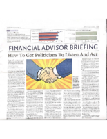 How to Get Politicians to Listen and Act – Investors Business Daily July 19 2021