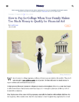How to Pay for College When You Don't Get Financial Aid – Money Magazine – July 21 2021